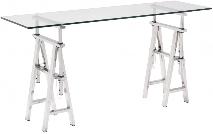 Lado Chrome Console Table