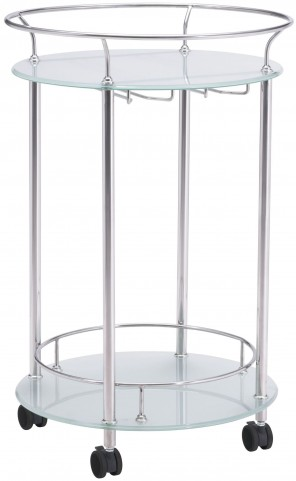 Plato Stainless Steel Serving Cart