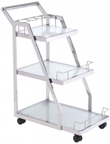 Acropolis Stainless Steel Serving Cart