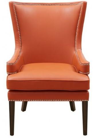 Rioja Orange And Stencil Orange Fabric Armchair