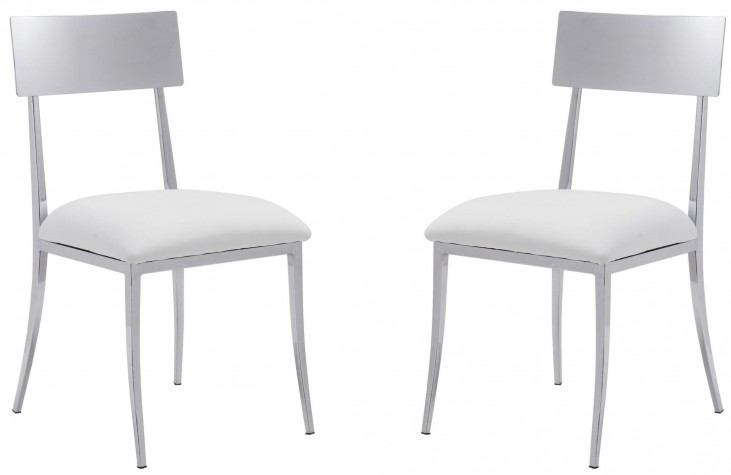 Mach White Dining Chair Set of 2