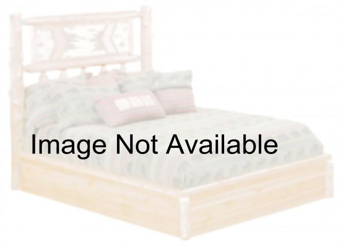 Cedar King Adirondack Platform Bed