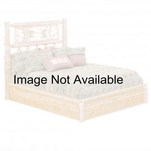 Cedar Twin Adirondack Platform Bed