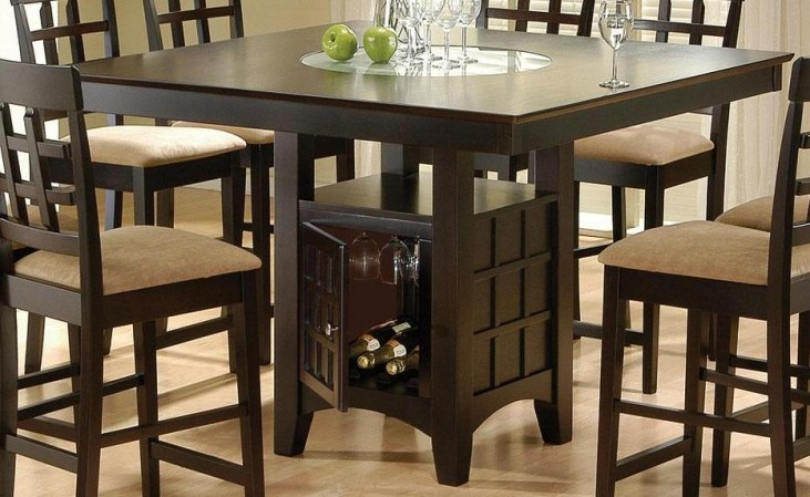 Cappuccino Dining Table 100438