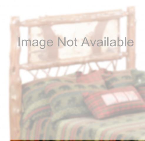 Cedar Full Adirondack Twig Headboard