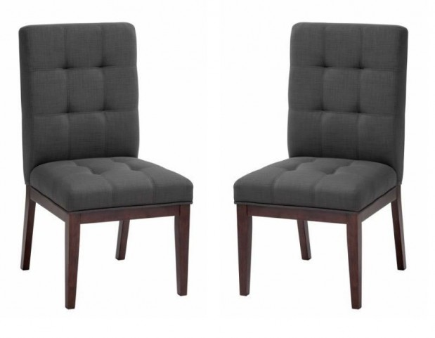Diana Charcoal Dining Chair Set of 2