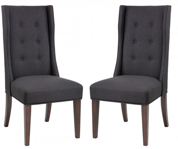 Sabine Grey Dining Chair Set of 2