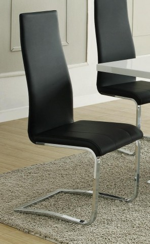 Mix & Match Black Dining Chair 100515BLK Set of 4