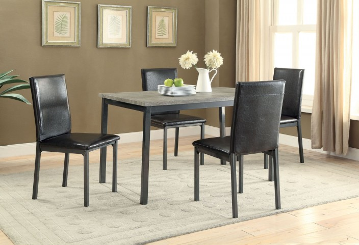 Garza Black Dining Room Set