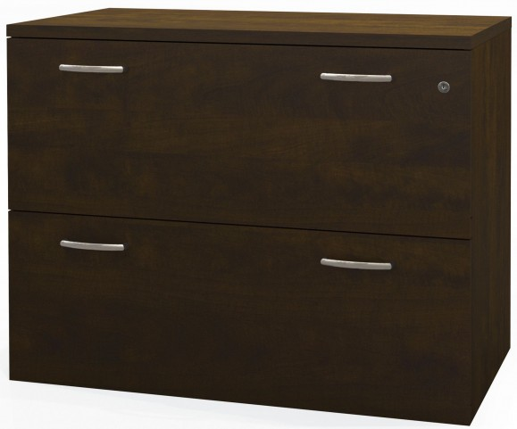 Pro-Biz Chocolate Lateral File Cabinet