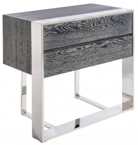 Dalton Grey 3 Drawer End Table