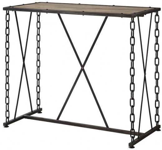 Dark Rustic Bar Table