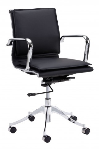 Morgan Onyx Office Chair