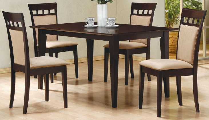 Mix & Match Cappuccino Dining Room Set