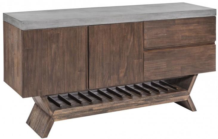 Vixen Medium Brown Sideboard