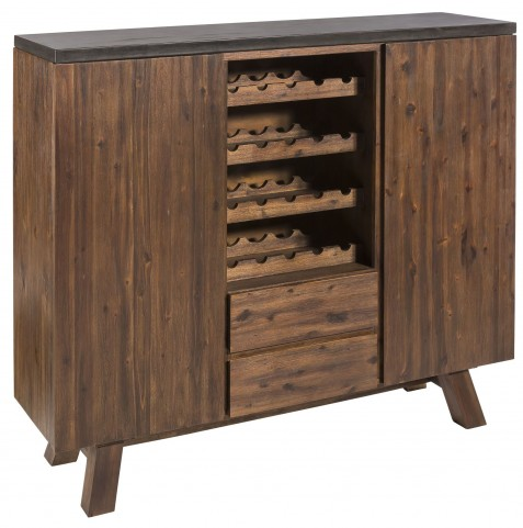 Cooper Light Espresso 3 Drawer Highboard