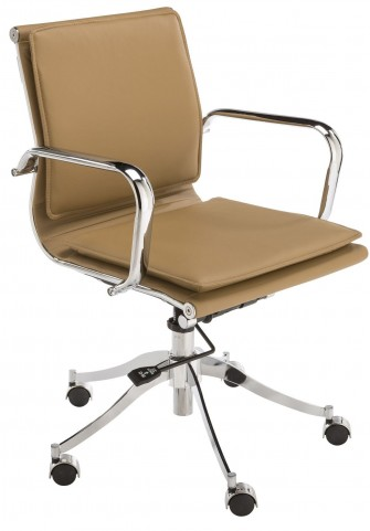 Morgan Tan Office Chair
