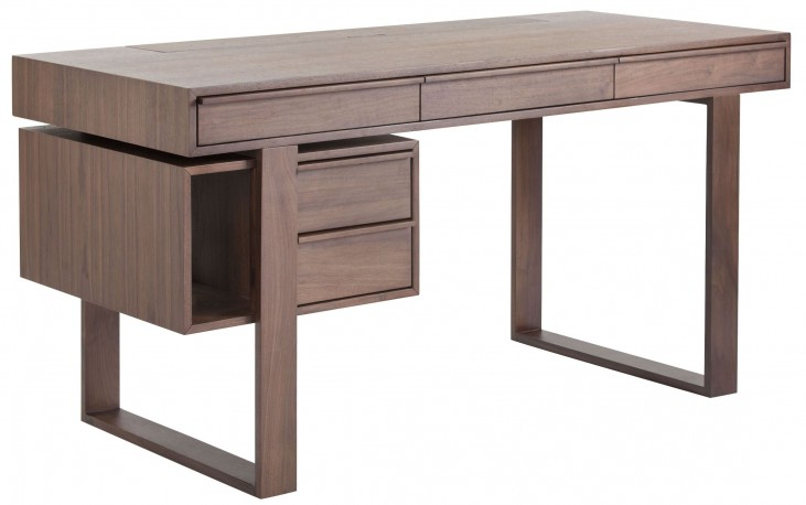 Munich Umber Brown Desk