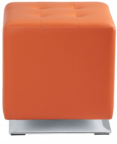 Marco Orange Swivel Ottoman