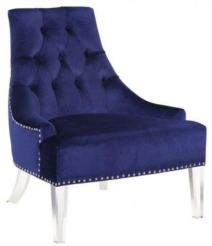 Prestige Blue Fabric Chair