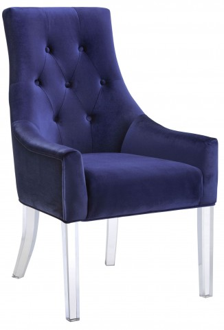 Charisma Royal Blue Fabric Chair