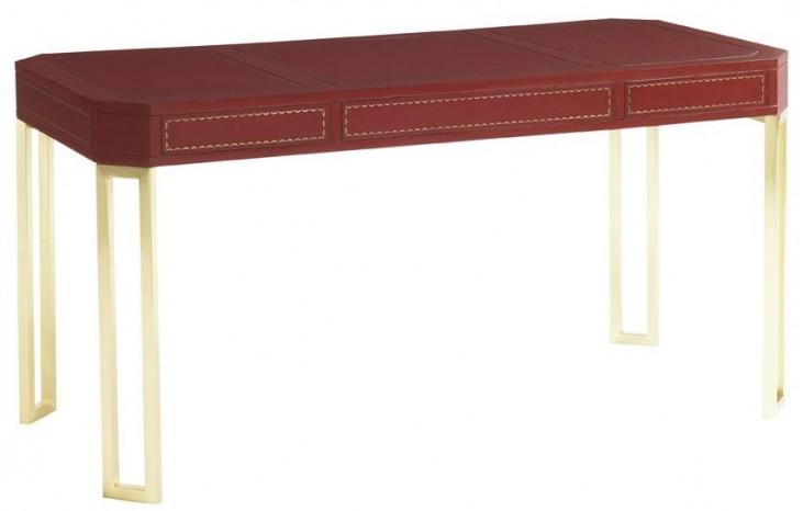 Studio Designs Mandarin Red Writing Desk