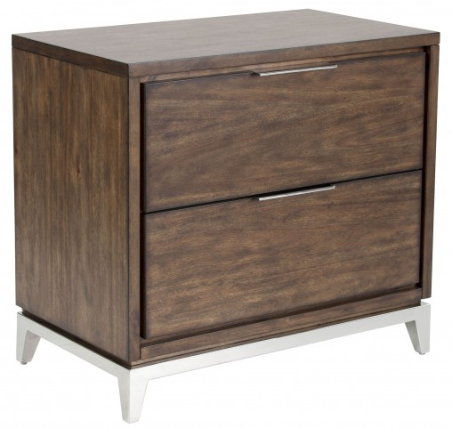 Miriam Smoked Brown Nightstand