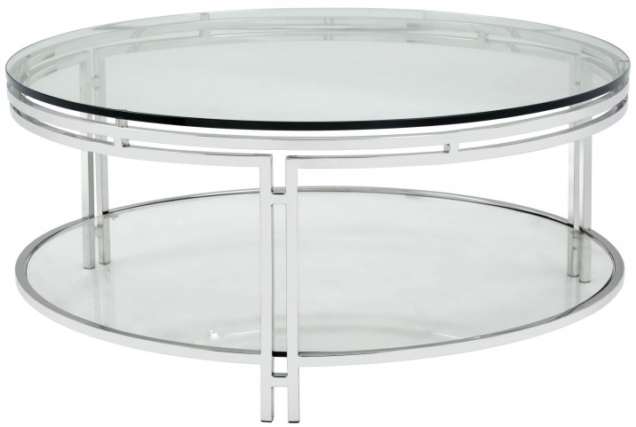 Andros Glass Top Coffee Table