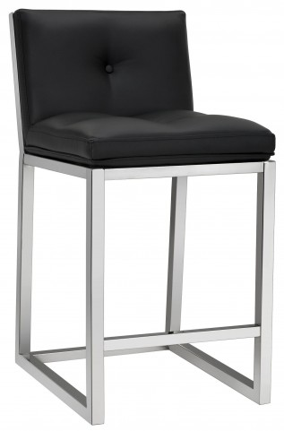 Alba Black Counter Stool