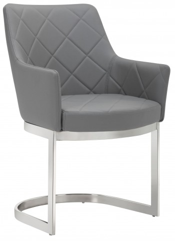 Chase Grey Cantilever Dining Chair