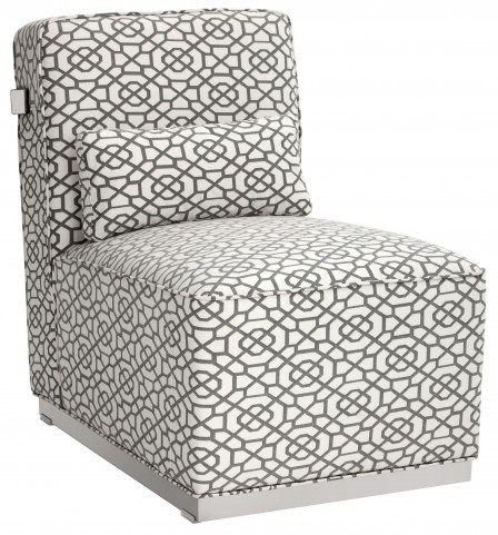 Brosnan Diamond Fabric Chair