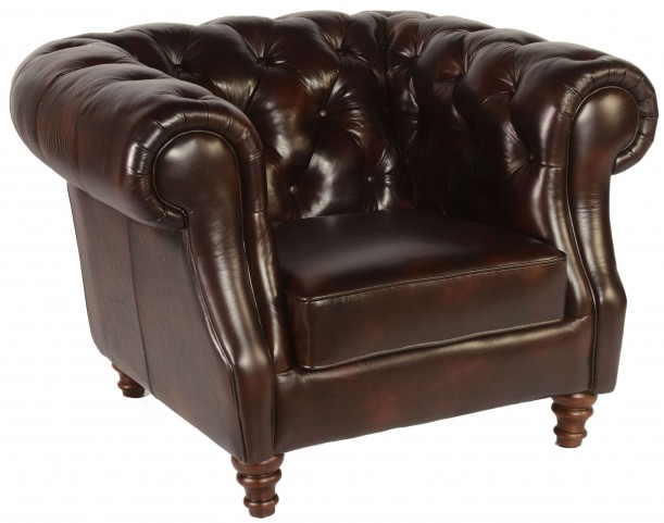 Beaufort Toberlone Leather Chair