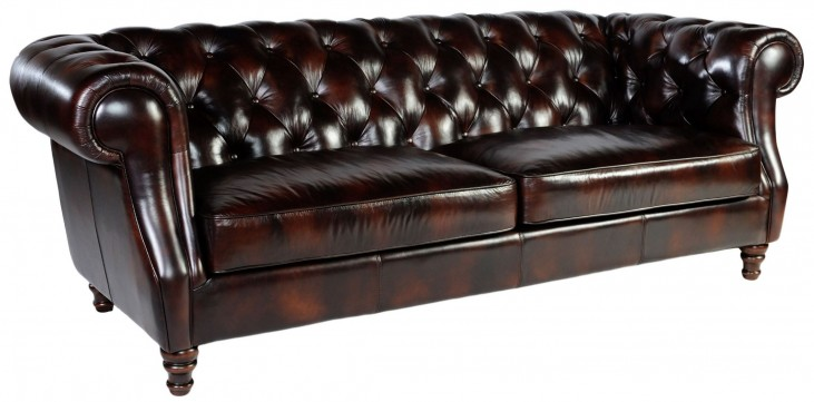 Beaufort Toberlone Leather Sofa