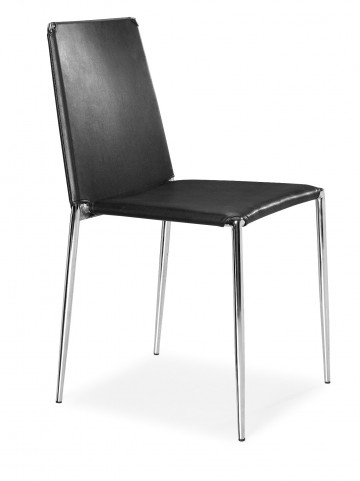 Alex Dining Chair Black Set of 4