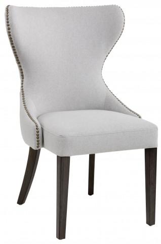 Ariana Light Grey Fabric Dining Chair