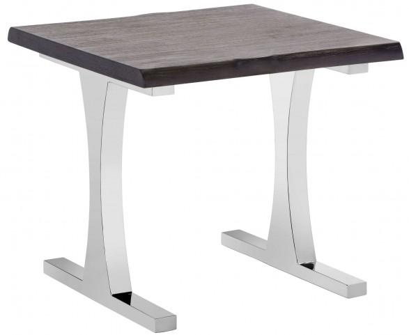 Marquez Gotham Grey End Table