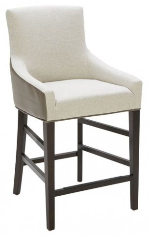 Vincent Marble and Dove Grey Counter Stool