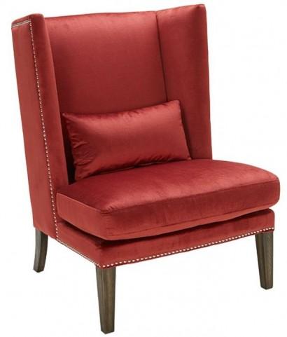 Malibu Red Pepper Wing Chair