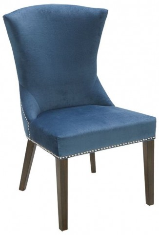 Sabrina Blue Ink Dining Chair