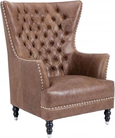 Rosedale Sepia Brown Armchair