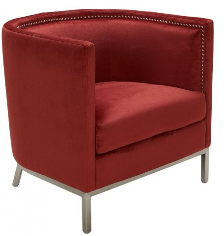 Wales Red Pepper Armchair