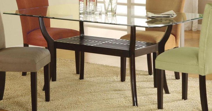 Bloomfield Cappuccino Rectangle Dining Table