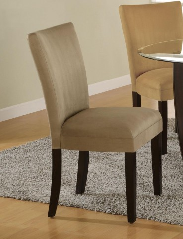 Bloomfield Taupe Parson Chair Set of 2