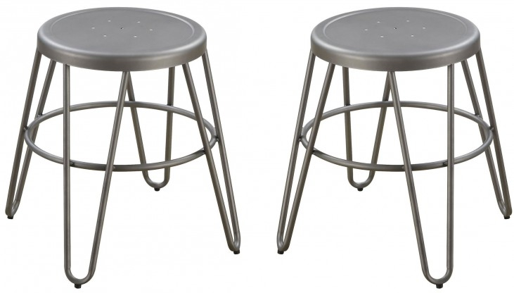 Galway Gunmetal Dining Stool Set of 4