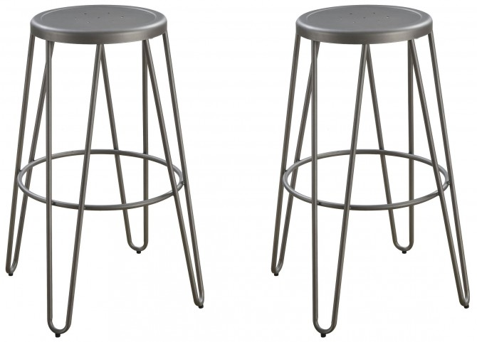 Galway Gunmetal Bar Stool Set of 4