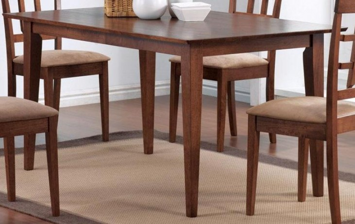Mix & Match Walnut Rectangular Dining Table