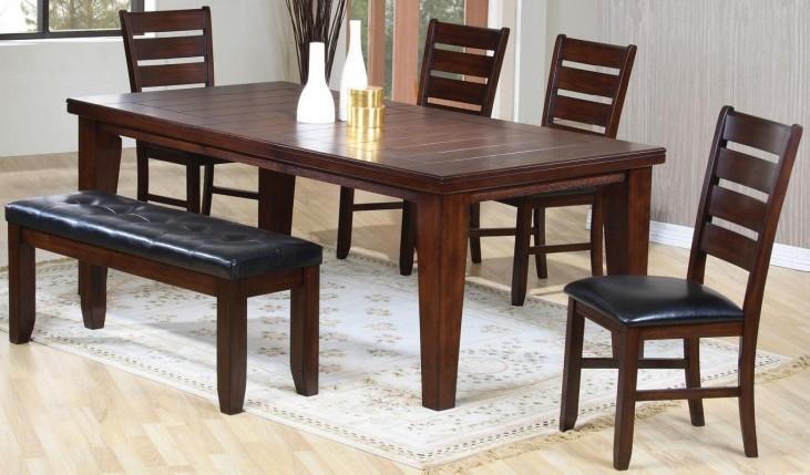 Imperial Oak Rectangular Dining Room Set