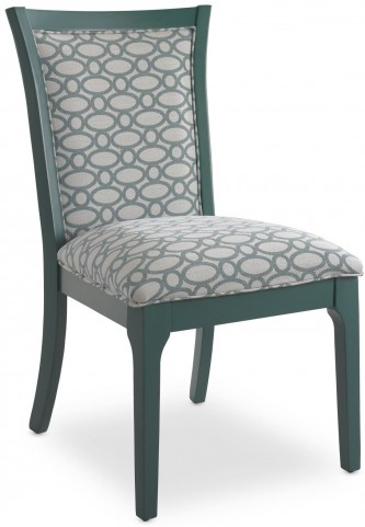 Open Seating Teal Karolina Side Chair