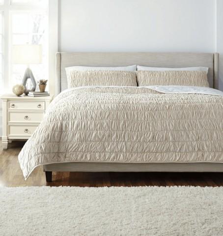 Q472003K Stitched King Comforter Set