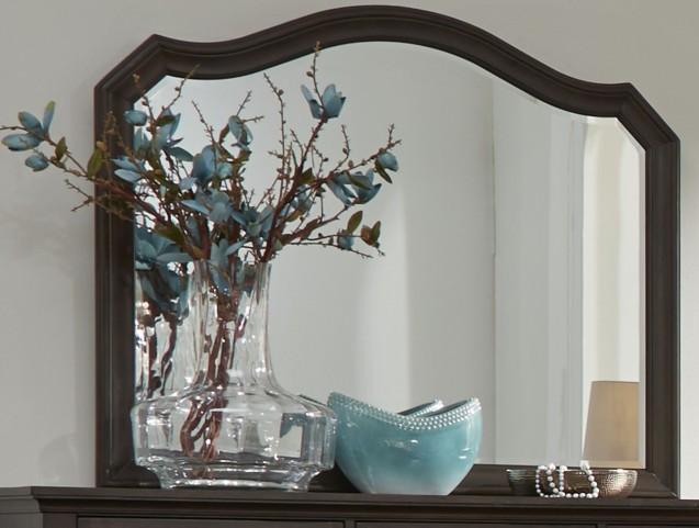 Berkley Heights Antique Washed Walnut Mirror
